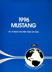 1996 Ford Mustang Factory Service Manual