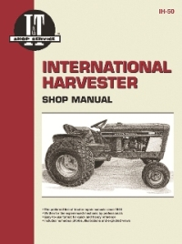 International Harvester I&T Tractor Service Manual IH-50