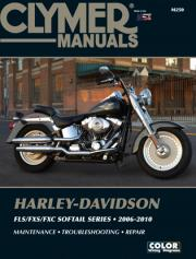 2006 - 2010 Harley-Davidson Softail FLS/FXS/FXC Models + CD-ROM Clymer Repair Manual