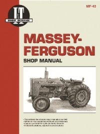 Massey-Ferguson I&T Tractor Service Manual MF-43