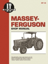Massey-Ferguson I&T Tractor Service Manual MF-46