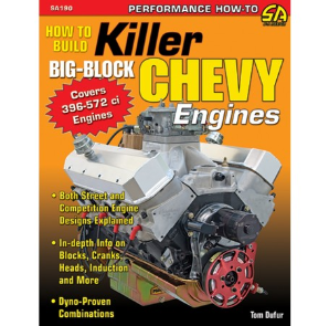 How To Build Killer Big-Block Chevy 396-572 ci Engines Manual By Cartech SA190p