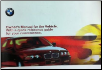 2000 BMW 3-Series: 323i, 330i, 330xi Owner's Manual with Case