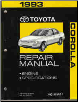 1993 Toyota Corolla Factory Service Manual - 2 Vol. Set (SKU: 0192070300)