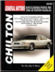 1985 - 2005 Buick, Oldsmobile, Pontiac FWD Chilton's Total Car Care Manual (SKU: 156392627X)
