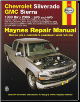 1999 - 2006 Chevrolet Silverado & GMC Sierra Haynes Repair Manual (SKU: 1563926814)