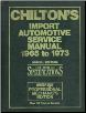 1965 - 1973 Chilton's Import Auto Service Manual (SKU: 0801971454)