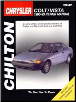 1990 - 1993 Dodge & Plymouth Colt, Colt Vista Chilton's Total Car Care Manual (SKU: 0801984181)