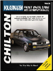 1974 - 1989 Volkswagen Front Wheel Drive, Chilton's Total Car Care Manual (SKU: 080198663X)