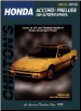 1984 - 1995 Honda Accord and Prelude Chilton's Total Car Care Manual (SKU: 080198680X)