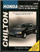 1984 - 1995 Honda Civic, CRX and del Sol Chilton's Total Car Care Manual (SKU: 0801986834)
