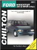 1995 - 1998 Ford Windstar Chilton's Total Car Care Manual (SKU: 0801989698)