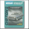 1973 - 1981 Datsun, Nissan 210, 1200, Chilton's Total Car Care Manual (SKU: 0801990688)