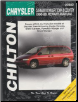 1996 - 1999 Chrysler Town & Country, Dodge Caravan, Grand Caravan, Plymouth Voyager & Grand Voyager, Chilton's Total Car Care Manual (SKU: 0801991153)