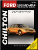 1996 - 1999 Ford Taurus, SHO & Mercury Sable Chilton's Total Car Care Manual (SKU: 080199117X)
