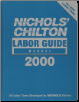 2000 Chilton Labor Guide Manual (SKU: 0801993032)