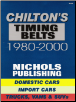 1980 - 2000 Chilton's Timing Belts Domestic & Import Cars, Trucks, Vans and SUV's (SKU: 0801993059)