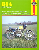 1958 - 1972 BSA Unit Singles Haynes Repair Manual (SKU: 0856961272)