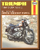 1969 - 1975 Triumph Trident T150, T150V, BSA Rocket III Haynes Repair Manual (SKU: 0856961361)