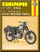 1958 - 1973 Triumph 350, 500 Twins Haynes Repair Manual (SKU: 085696137X)
