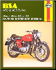 1962 - 1973 BSA A50, A65 Twins Haynes Repair Manual (SKU: 0856961558)
