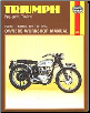 1947 - 1962 Triumph Pre-Unit Twins Haynes Repair Manual (SKU: 0856962511)