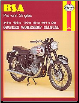1954 - 1961 BSA Pre-Unit Singles Haynes Repair Manual (SKU: 0856963267)