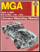 1955 - 1962 MGA Haynes Owners Workshop Repair Manual (SKU: 0857336452)