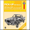 1973 - 1979 Datsun Pick-Up 620 Series Haynes Repair Manual (SKU: 0856966436)