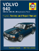 1990 - 1998 Volvo 940 Haynes Repair Manual Gas (SKU: 9780857336514)