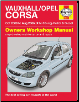 2000 - 2006 Vauxhall, Opel Corsa Gas & Diesel Haynes Repair Manual (SKU: 0857339354)