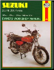 1968 - 1978 Suzuki 250 & 350 Twins Haynes Repair Manual (SKU: 0859605065)