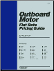 Outboard Motor Flat Rate Pricing Guide by Clymer (SKU: 0872884511)