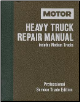 1977 - 1989 MOTOR Medium & Heavy Truck Repair Manual, 6th Edition (SKU: 087851712X)