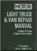 1992 - 1996 MOTOR Light Truck & Van Repair Manual, 13th Edition (SKU: 0878518800)