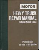 1977 - 1986 MOTOR Medium & Heavy Truck Repair Manual, 3rd Edition (SKU: 0878616344)