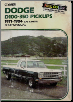 1971 - 1984 Dodge D100 350 Gas & Diesel Pickups Shop Manual (SKU: 0892873132-2e)