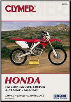 2002 - 2005 Honda CRF250R, CRF250X, CRF450R & CRF450X Clymer Repair Manual (SKU: M352-0892879289)