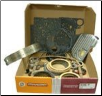 Ford E4OD Transmission 1989 - 1995 Deluxe Overhaul Kit - Hardened Teeth on Frictions (SKU: K7300C-R)