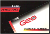 1996 Geo Metro Factory Owner's Manual (SKU: 10277491A)