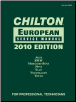 2010 Chilton's European Service Manual (2010 - 2011 Coverage) (SKU: 1111037698)