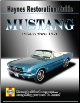 1964 1/2 - 1970 Mustang Restoration Guide Haynes Manual (SKU: 1563929570)