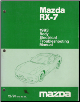 1995 Mazda RX-7 Body Electrical Troubleshooting Manual (SKU: 13121091L)