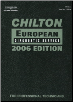 2006 Chilton European Diagnostic Service Manual, (1996 - 2005 year coverage) (SKU: 1418029246)