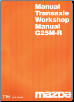 1994 Mazda Transaxle Workshop Manual G25M-R (SKU: 14261094G)