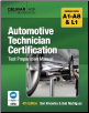 ASE A1-A8, L1 Automotive Technician Certification Test Prep Manual 4th Ed. (SKU: 1428321012)