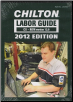 2012 Chilton Labor Time Guide CD-ROM: Domestic & Import (SKU: 1435461541)