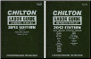 2012 Chilton Labor Time Guide Manuals: Domestic & Import, 2 Volume Set (SKU: 143546155X)