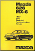 1996 Mazda 626 MX-6 Factory Body Electrical Troubleshooting Manual (SKU: 14931095F)