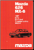 1997 Mazda 626 MX-6 Body Electrical Troubleshooting Manual (SKU: 15581096F)
